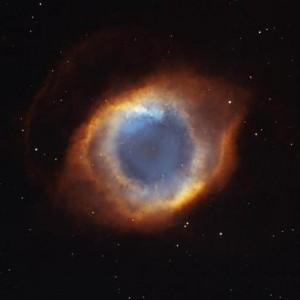 nebulosa Helix fica a 650 anos luz